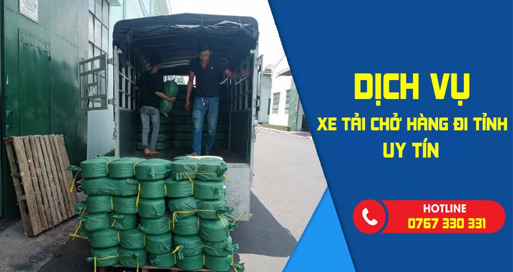 Dịch vụ xe tải chở hàng đi Bình Dương