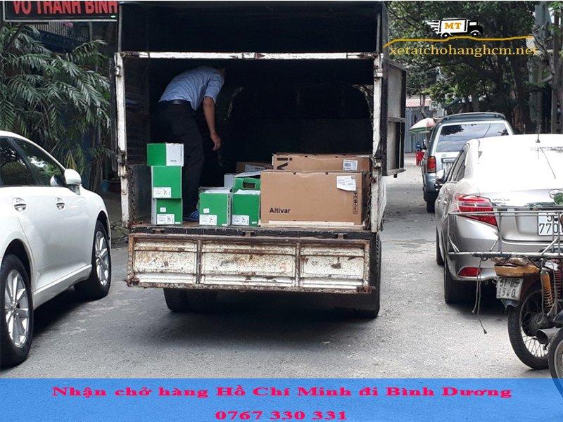 Nhận chở hàng Hồ Chí Minh đi Bình Dương