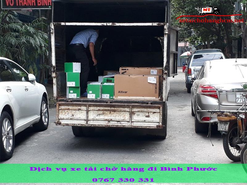Dịch vụ xe tải chở hàng đi Bình Phước uy tín, chuyên nghiệp