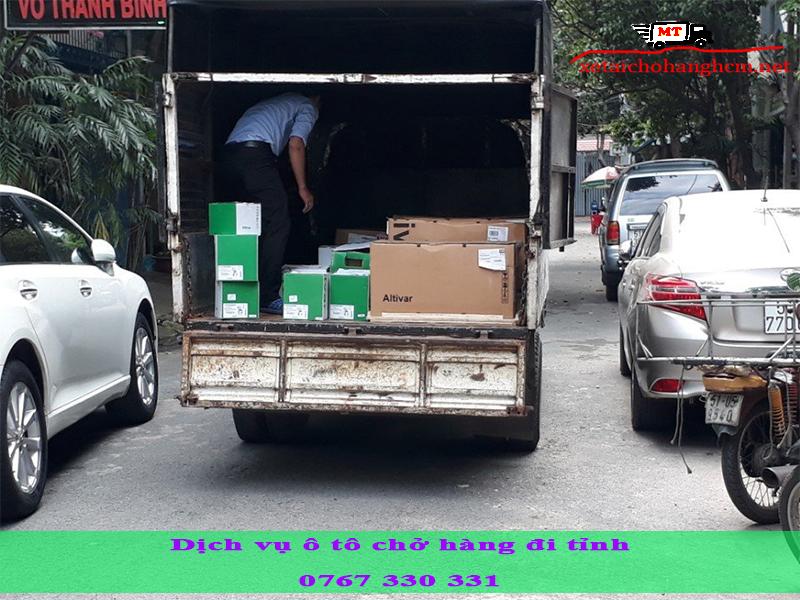 Dịch vụ ô tô chở hàng đi tỉnh