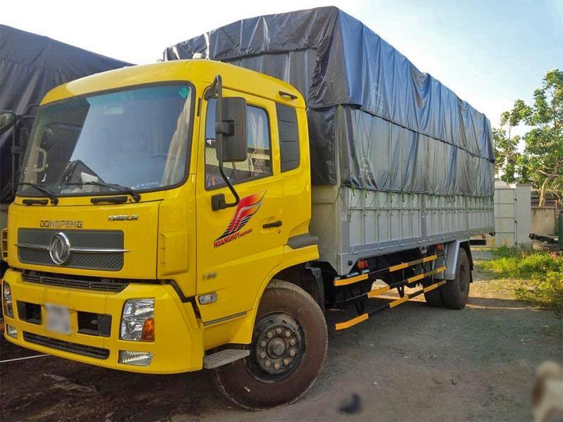 Dịch vụ cho thuê xe tải chở hàng đi Cần Thơ
